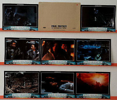 2001 FINAL FANTASY THE SPIRITS WITHIN French Lobby Cards