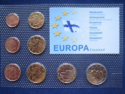 Mds Finnland Euro-Kms 2010, 1 Cent - 2 Euro Im Noppenblister  (Box B)