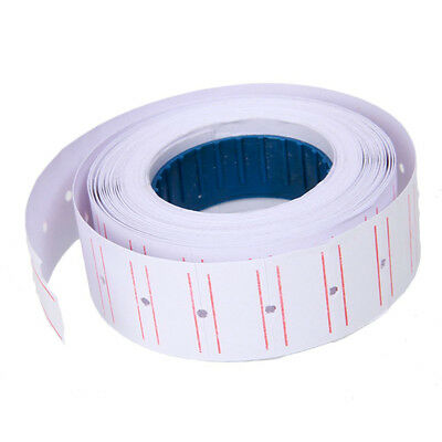 White Red Line Tags Labels Refill MX-5500 Gun One Line Price Change 5000 Sticker