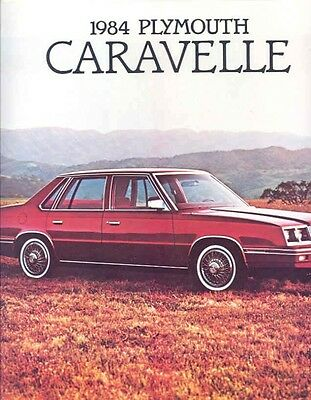 1984 Plymouth Caravelle Brochure Canada my4950