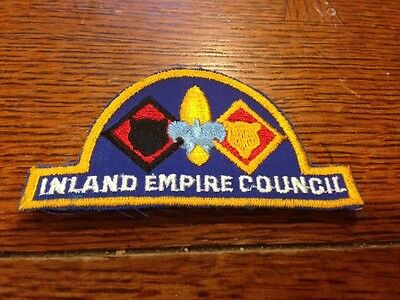 Older C/E Inland Empire Council Hat-shaped Patch