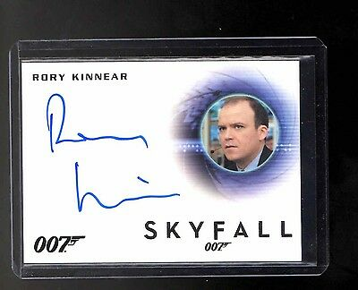2014 James Bond Archives Rory Kinnear auto card