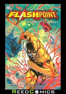 FLASHPOINT WORLD OF FLASHPOINT THE FLASH GRAPHIC NOVEL (250 Pages) New Paperback