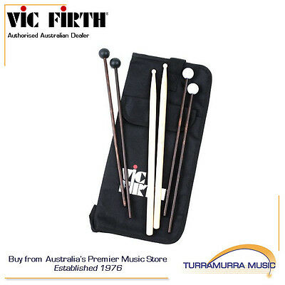 Vic Firth Education Pack - Stick Bag + Drum Sticks