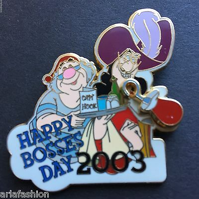 DLR - Happy Bosses Day 2003 Captain Hook Limited Edition 1500 Disney Pin 26037