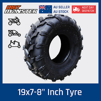 "19x7- 8"" inch Front Tubeless Tyre Tire for 125cc 150cc Quad Dirt Bike ATV Buggy"