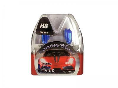 H8 7500K 35W Replacement Fog Lamp / Light Bulbs HID Look Xenon Blue - Peugeot