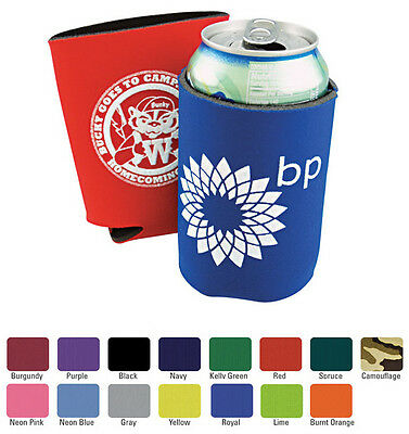 500 Custom Printed Collapsible Can Coolies - Koozies