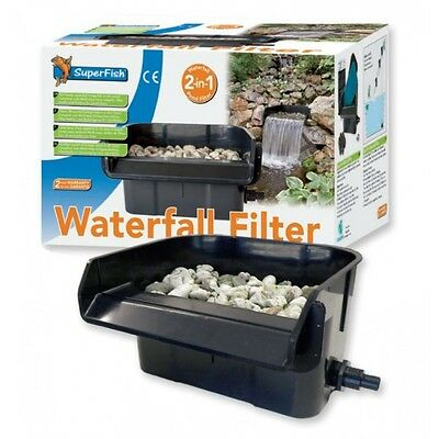 Superfish Waterfall Filter 44cm Garden Pond Koi Fish Feature