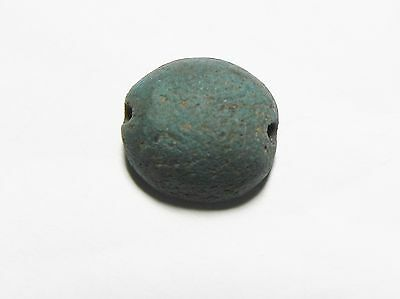 Zurqieh -Ancient Egypt - 18Th Dynasty Faience Scarab, 1400 B.c