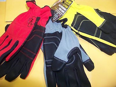 3 Large Pair Firm Grip  High Performance Gloves