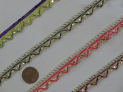Upholstery Edging Border Sew Crafts Gimp Jacquard T390 1.30 cm wide Braid Trim