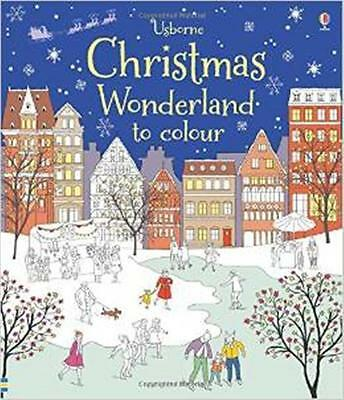 Christmas Colouring Book - Christmas Wonderland to Colour - New Book