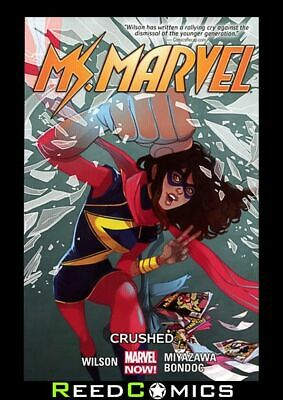 MS MARVEL VOLUME 3 CRUSHED GRAPHIC NOVEL Paperback Collects (2014) #12-15 + more