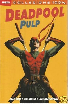 100% MARVEL: DEADPOOL PULP (Panini Comics, 2012)