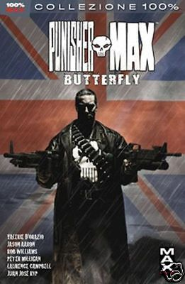 100% MARVEL MAX: THE PUNISHER #20 BUTTERFLY (Panini Comics, 2012)