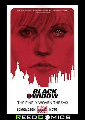 BLACK WIDOW VOLUME 1 FINELY WOVEN THREAD GRAPHIC NOVEL New Paperback Collect 1-6