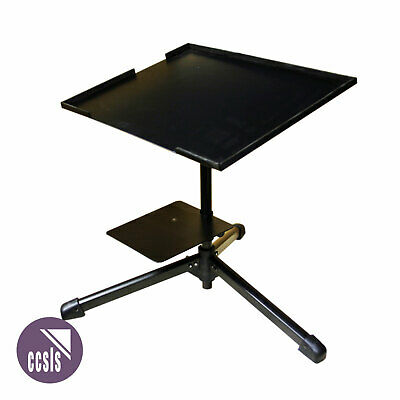 Bravo Ls24 Tri-Leg Laptop Stand For Table Or Desk Top With Adjustable Shelf