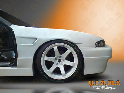 Nissan 200sx S14 Rocket Bunny Style +30mm Front Wings Fenders for Wide Body v4