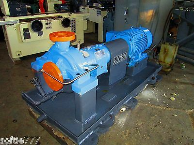 Used Union 50 H.p. 3 X 4 X 13 Centrifugal Pump Model Rs-P -1B / 330 Gpm (Oc625)