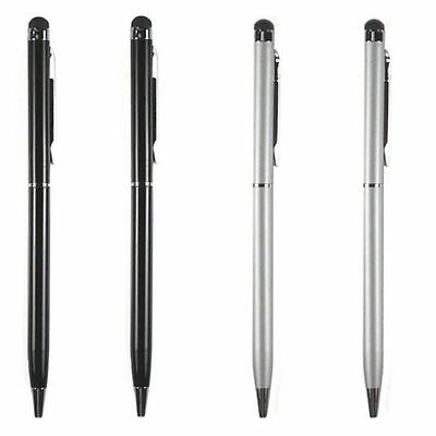 3Pcs 2in1 Universal Stylus Touch Screen Pen For iPhone iPad Samsung Tablet Phone