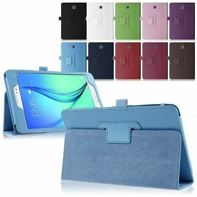Hellfire Trading Magnetic PU Leather Case Cover for Samsung Galaxy A 8 T350