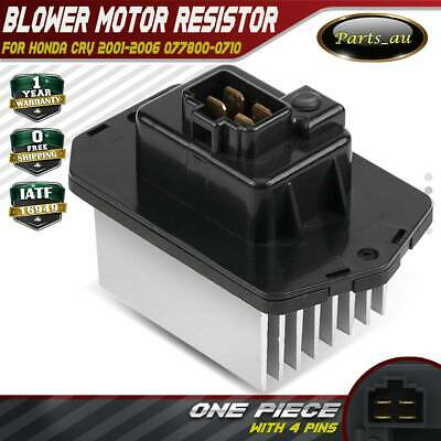 Blower Motor Heater Fan Resistor for Honda CRV 2001-2006 077800-0710 8 Fins