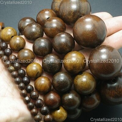 Natural Driftwood Round Wood Ball Loose Beads 6mm 8mm 10mm 15mm 18mm 20mm 30mm