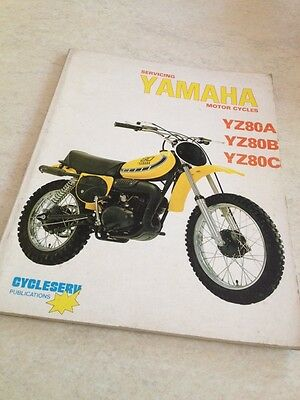 Cycleserv Yamaha YZ80 80 YZ A B C 80YZ  Owner workshop manual , revue technique