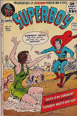 DC Comics! Superboy! Issue 179!