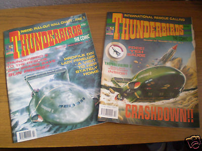 Thunderbirds - The Comic Issues 2 & 7