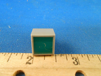 185-5172  Dialight Corp  Green Lens Square Plastic Body  New Old Stock