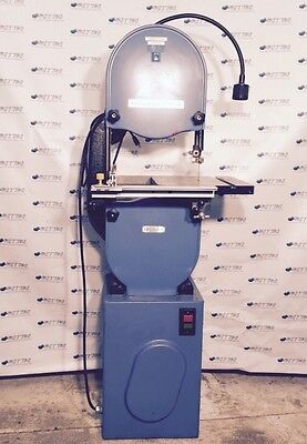 "Delta Rockwell 14"" Vertical Wood Cutting Band Saw Model 28-200 W/ Stand  3 Phase"