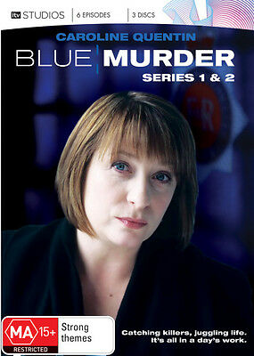 Blue Murder: Season 1 and 2 (3 Discs) * NEW DVD * (Region 4 Australia)