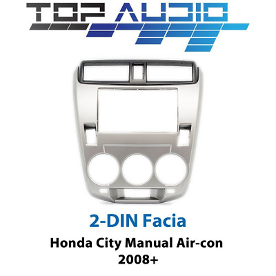 Honda City car stereo radio Double 2 Din fascia dash panel facia trim kit
