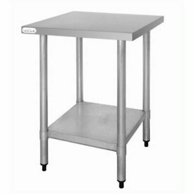 Stainless Steel Bench with Undershelf, Commercial Kitchen, 900x600x700mm