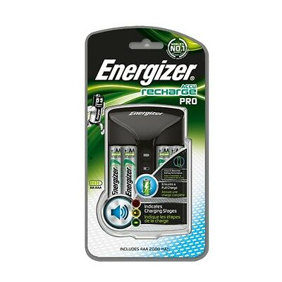 Energizer Recharge pro  Batgtery Charger With 4 AA 2000mAh Rechargable Batteries