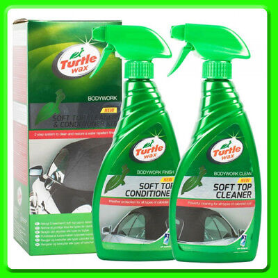Turtle Wax Cabriolet Fabric Hood Cleaner and Preserver [51772] Soft Top