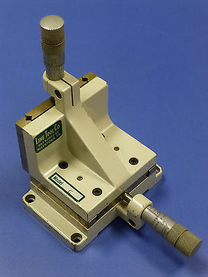 Line Tool Model C XZ Linear Translation Stage, 2-Axis, with Micrometers