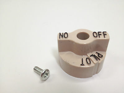 Dial Knob for Commercial Fryer,Fits Robertshaw 700 Series Gas Pilot Safety Valve