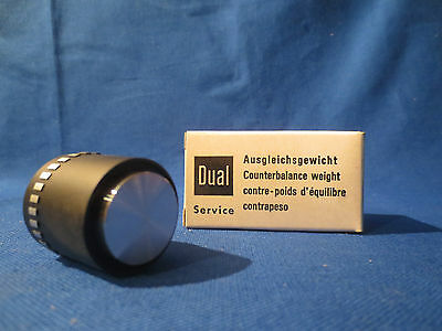 Nos Dual 1237 1239 Turntable Counter Balance Weight Pt # 242604 In Original Box