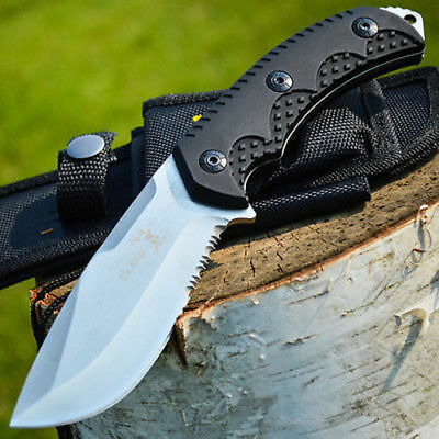 Elk Ridge Hunting Survival Camping Rescue Full Tang Fixed Blade Knife Bowie