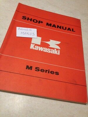 Kawasaki M90 M series  manuel atelier , workshop service manual