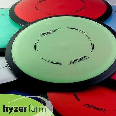MVP NEUTRON WAVE *pick your weight and color*  disc golf driver  Hyzer Farm
