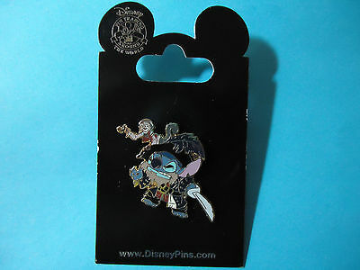 Disney Pirates of the Caribbean - Stitch as Barbossa Pin  **NEW ON CARD**