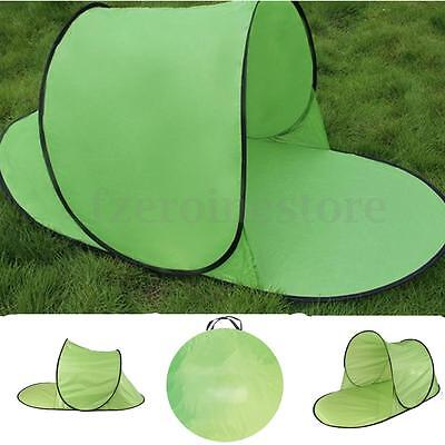 Pop Up Sun Shade Tent Hiking Camping Beach Camping Automatic Quick Open Shelter