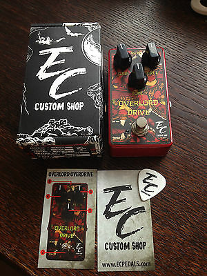 EC Custom Shop 'Overlord Drive' Hand Made Guitar Effects Pedal