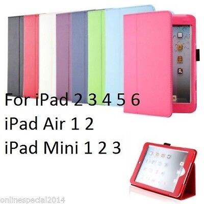 Smart 2 FOLD magnetic case cover for Apple iPad 6 5 4 3 2 mini 4 Air 1 2 Pro 9.7
