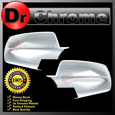 15-17 Chevy Silverado 2500+3500+HD Triple Chrome plated Full Mirror Cover