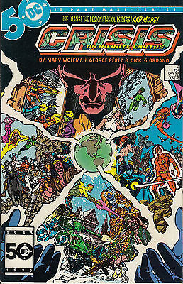 CRISIS ON INFINITE EARTHS 3...NM-...1985...Flash disappears!...Bargain!